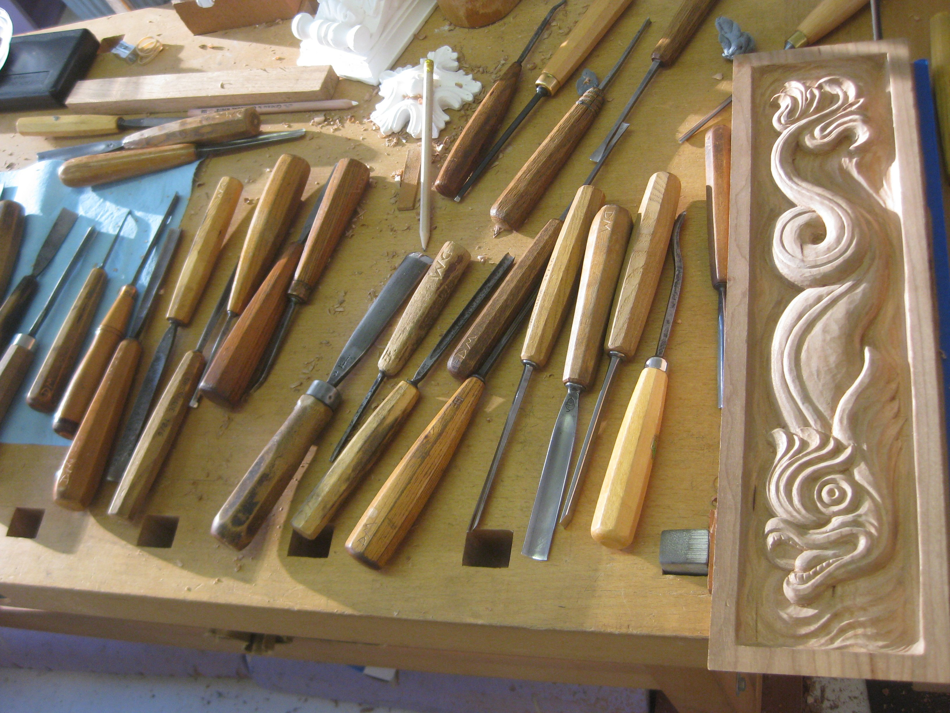 Carving biography werner groeschel s wood carving